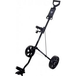 Fastfold Basic 2-wiel golftrolley (zwart) FF4103010 FastFold Golftrolleys