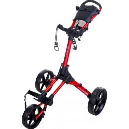 Fastfold Square golftrolley - compacte golfkar (rood) FF4900270 FastFold Golftrolleys