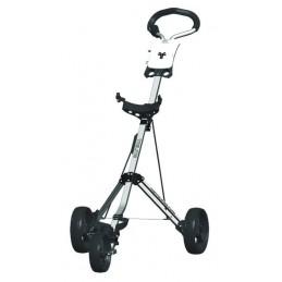 Fastfold Trilite basis 3-wiel golftrolley (zilver) FF4209320 FastFold Golftrolleys