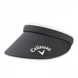 Callaway dames clip golf visor - zonneklep (donkergrijs) 5220181 Callaway Golf Golfkleding