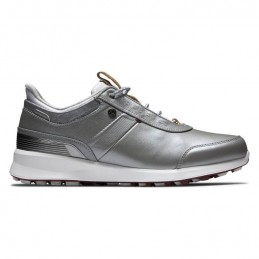 Footjoy Stratos dames golfschoen (zilver) 90113 Footjoy Golfschoenen
