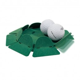 Volvik Vivid Matte Rode Golfballen 12 stuks