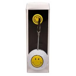 Golfbal met opdruk en marker - Smiley (1 stuks)