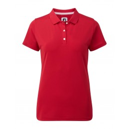 FootJoy Stretch Pique Solid dames golf poloshirt (rood) 94324 Footjoy € 69,00
