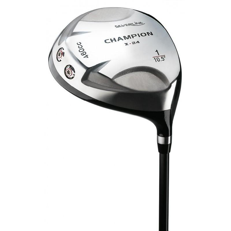 Silverline Champion X-24 titanium golf driver graphite rechtshandig 24112WR Silverline Golf €89,95