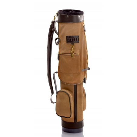 Lanig Royal North Devon Leder (bruin) LG100301 Silverline Golf Golftassen