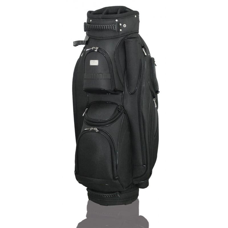 Lanig Garda Cartbag (zwart) LG101702 Silverline Golf €259,95