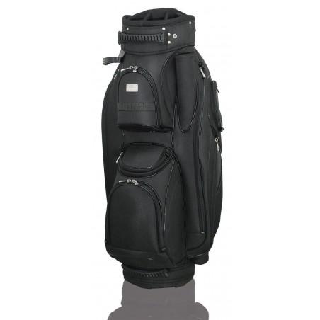 Lanig Garda Cartbag (zwart) LG101702 Silverline Golf Golftassen