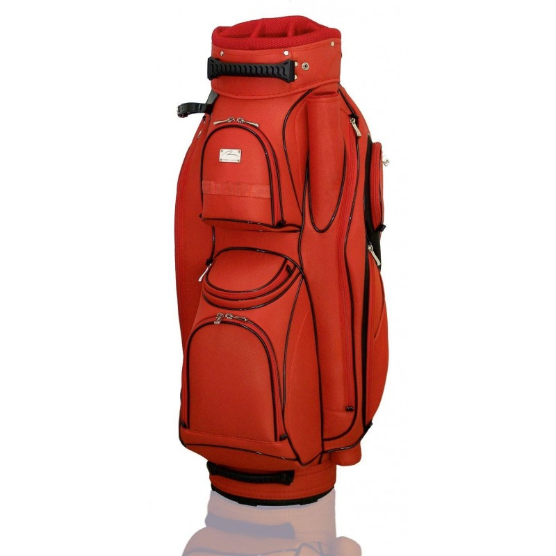 Lanig Garda Cartbag (rood) LG101705 Silverline Golf €259,95