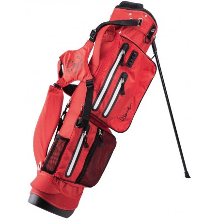 Lanig Traveller Waterdichte Standbag (rood) LG100402 Silverline Golf Golftassen