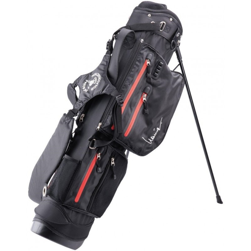 Lanig Traveller Waterdichte Standbag (zwart) LG100401 Silverline Golf €179,95