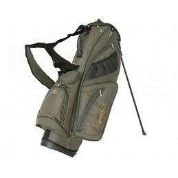 Lanig Troon Standbag (kaki) LG100604 Silverline Golf Golftassen