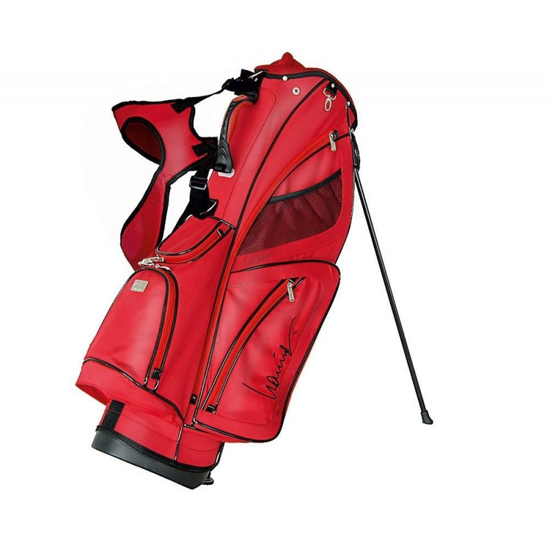 Lanig Troon Standbag (rood) LG100603 Silverline Golf € 149,95