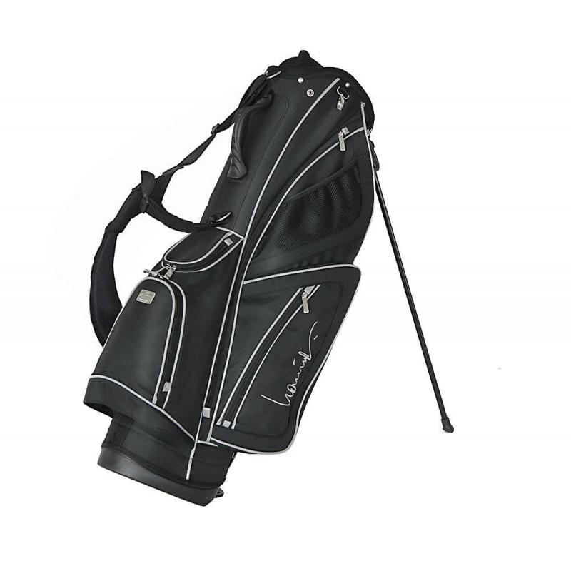 Lanig Troon Standbag (zwart) LG100602 Silverline Golf €149,95