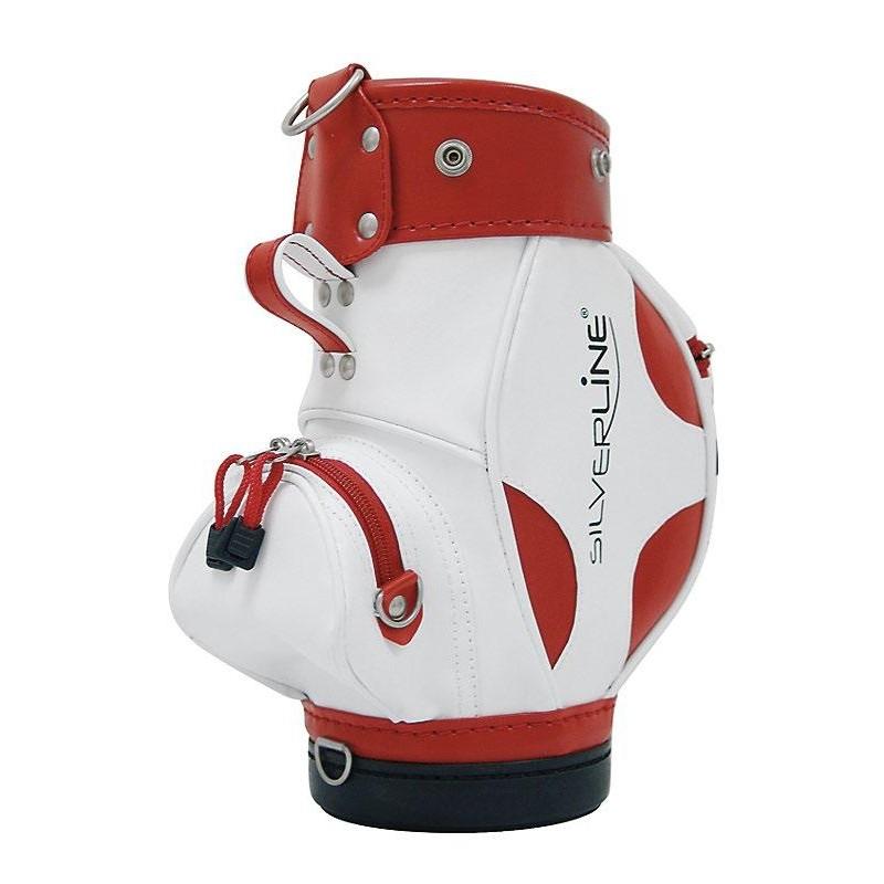 Golfhouder voor wijnfles (wit/rood) 1862 Silverline Golf €29,95