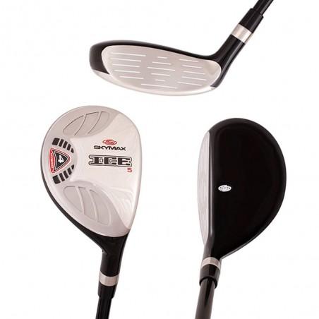 Skymax IX-5 Complete Golfset Heren (stalen shaft) + Skymax Cartbag (zwart/rood)  SkyMax Golf €453,99