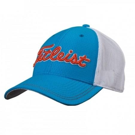 Titleist Stretch Tech golfcap (blauw/wit) TH6ASTEA-9 Titleist Golf €24,95