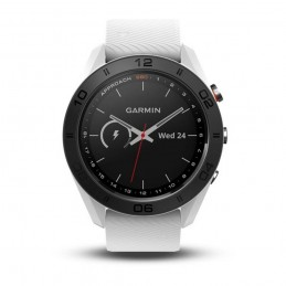 Garmin Golf-GPS golfhorloge Approach S60 (wit) 010-01702-01 Garmin GPS & Lasermeters