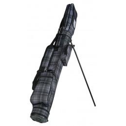 Silverline Sunday Pencilbag schotsenruit (zwart)