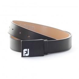 Footjoy lederen golfriem (zwart) 69354 Footjoy Golfkleding