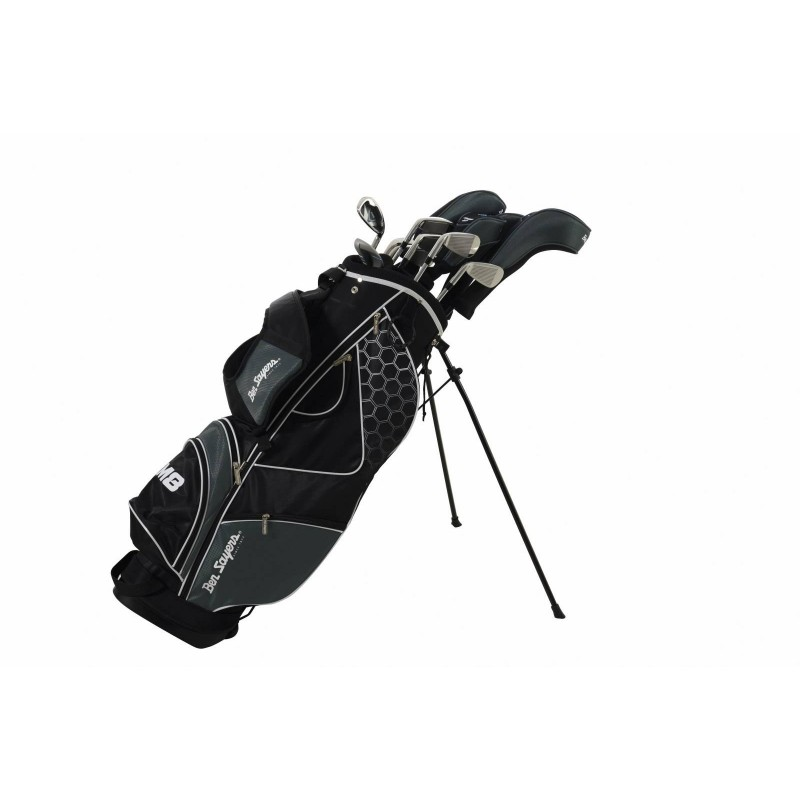 Ben Sayers M8 Graphite/Steel heren golfset rechtshandig incl. zwarte stand bag BSM8-MRH-SG-SBB Ben Sayers Golf €389,95