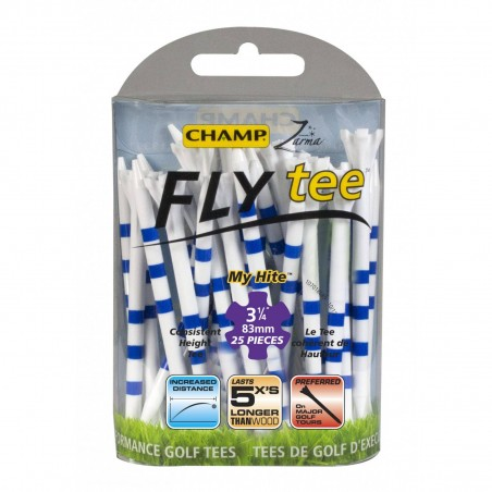 Champ FLYtee My Hite 3 1/4 inch 83mm tees 153734 Champ Golfspikes € 8,95