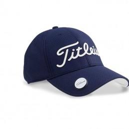 Titleist Performance Ball Marker Cap (marineblauw/wit) TH7PBMEA-41 Titleist Golf Golfkleding