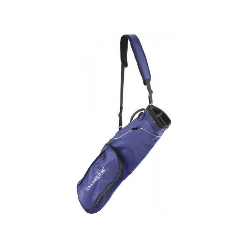 Silverline opvouwbare draagtas (blauw) - 176806 176806 Silverline Golf €29,95