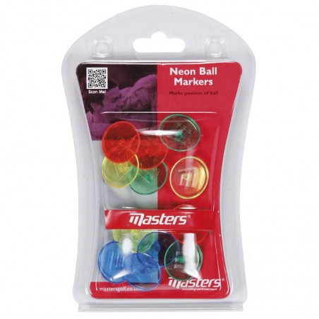 Masters Neon Ball markers ZDTE0030 Masters €1,95