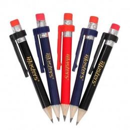 Masters golf potloden met gum en clip ZDGA0140 Masters €2,95