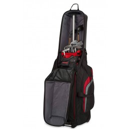 BagBoy T-10 travel cover 2019 (zwart/grijs) BB97001 BagBoy Golf Travelcovers