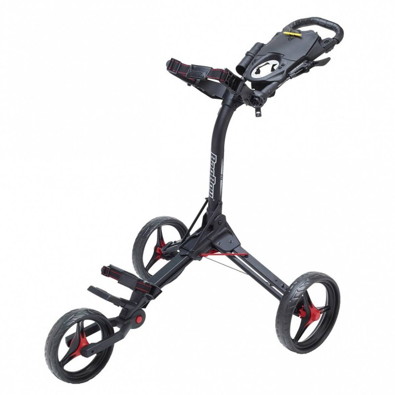 BagBoy Compact 3 golftrolley 2019 (matzwart/rood) BB-C3-BR Golftrolleys product_reduction_percent
