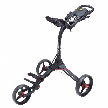 BagBoy Compact 3 golftrolley (zwart/rood) BB-C3-BR BagBoy Golf Golftrolleys