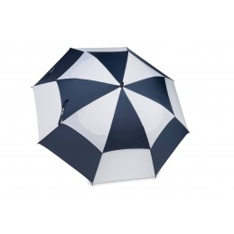 BagBoy golfparaplu Double Canopy (marineblauw/wit) BB15852 BagBoy Golf €39,95