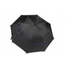 BagBoy Double Canopy golfparaplu (zwart/royal) BB15856 BagBoy Golf Regen artikelen