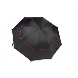 BagBoy golfparaplu Double Canopy (zwart/rood)  BagBoy Golf €39,95