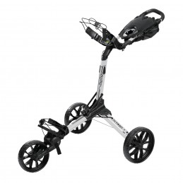 BagBoy Nitron volautomatisch uitklapbare golftrolley (wit) BBNWB BagBoy Golf Golftrolleys