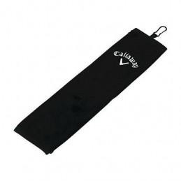 CALLAWAY TRI-FOLD golf handdoek (zwart) 5413020 Callaway Golf Golfclub schoonmaakborstels & handdoeken