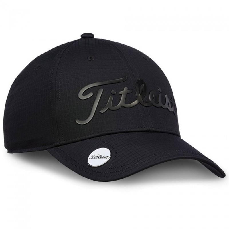 Titleist Performance Ball Marker Cap (zwart) TH9APBMEA-00 Titleist Golf Golfkleding
