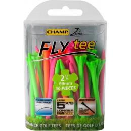 Champ Zarma FLYtee 2 3/4 inch 69mm tees (multi) 92563 Champ Golfspikes Golfaccessoires