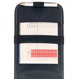 Masters Premium kunstleren golf scorekaart houder ZDGA0050 Masters Golf scoretellers & kaarthouders
