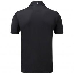 FootJoy Stretch Pique heren golfpolo shirt (zwart) 91822 Footjoy Golfkleding
