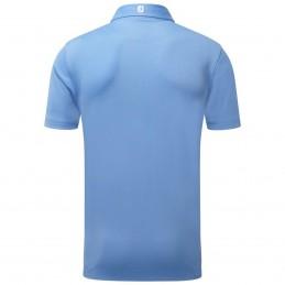 FootJoy Stretch Pique heren golfpolo shirt (blauw) 91826 Footjoy Golfkleding