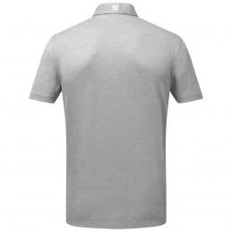FootJoy Stretch Pique heren golfpolo shirt (grijs) 91819 Footjoy Golfkleding
