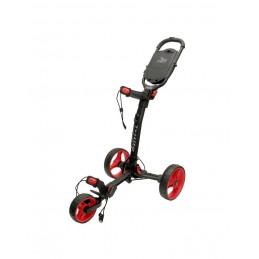 Axglo Trilite ultra lichte 3-wiel golftrolley (zwart/rood) TL-BK/RD Axglo Golftrolleys