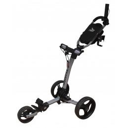 Axglo Trilite ultra lichte 3-wiel golftrolley (grijs/zwart) TL-GY/BK Axglo Golftrolleys