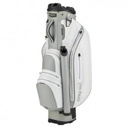 Bennington Dry Quiet Organizer waterdichte golf cartbag (wit-zilver) QODB-WS Bennington Golf Golftassen