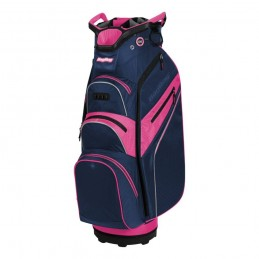 BagBoy Lite-Rider Pro golf cartbag met Top-Lock (marineblauw-roos) BB-LRP-NPS BagBoy Golf Golftassen